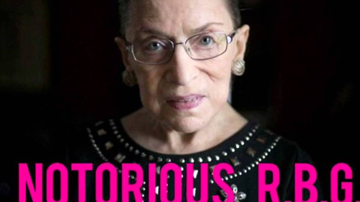 Rant:  Earth to Notorious R.B.G.