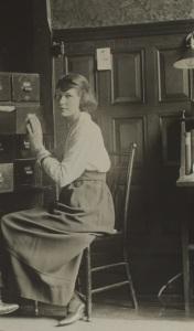 Office of Emma Wold Standing Headquarters Secretary 1919