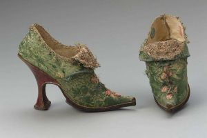 women shoes 1700s