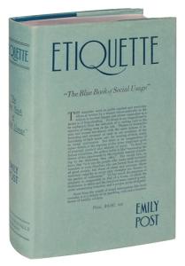 Emily book 1922