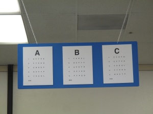 eye exam dmv