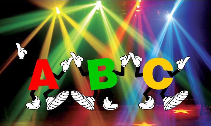 dancing alphbet