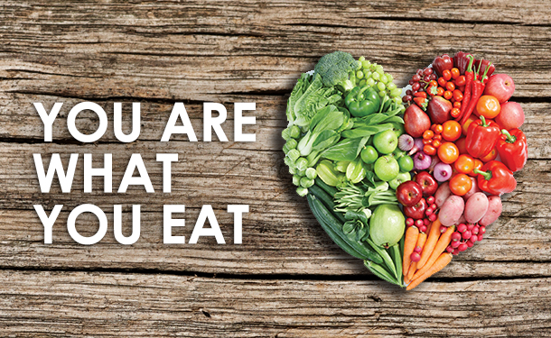 If You Are What You Eat, What AreYou?
