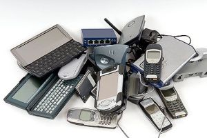 devices pile of