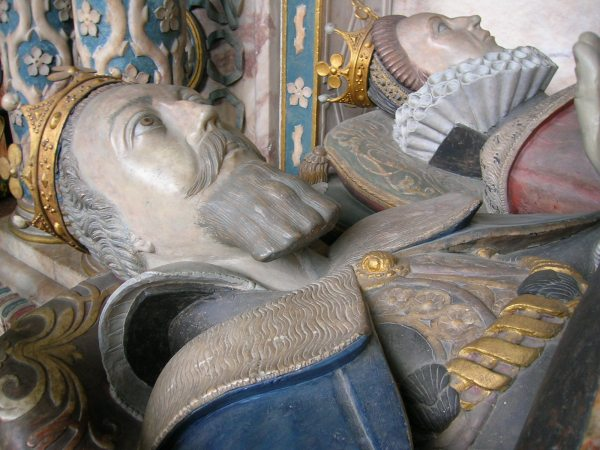 Dudley tomb, St. Mary's Church, Warwick