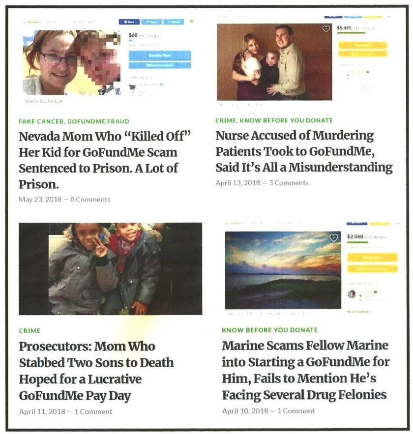 Go Fraud Me Headlines