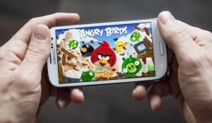 angrybirds on phone