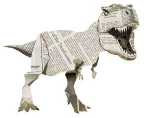 dinosaur newspaper