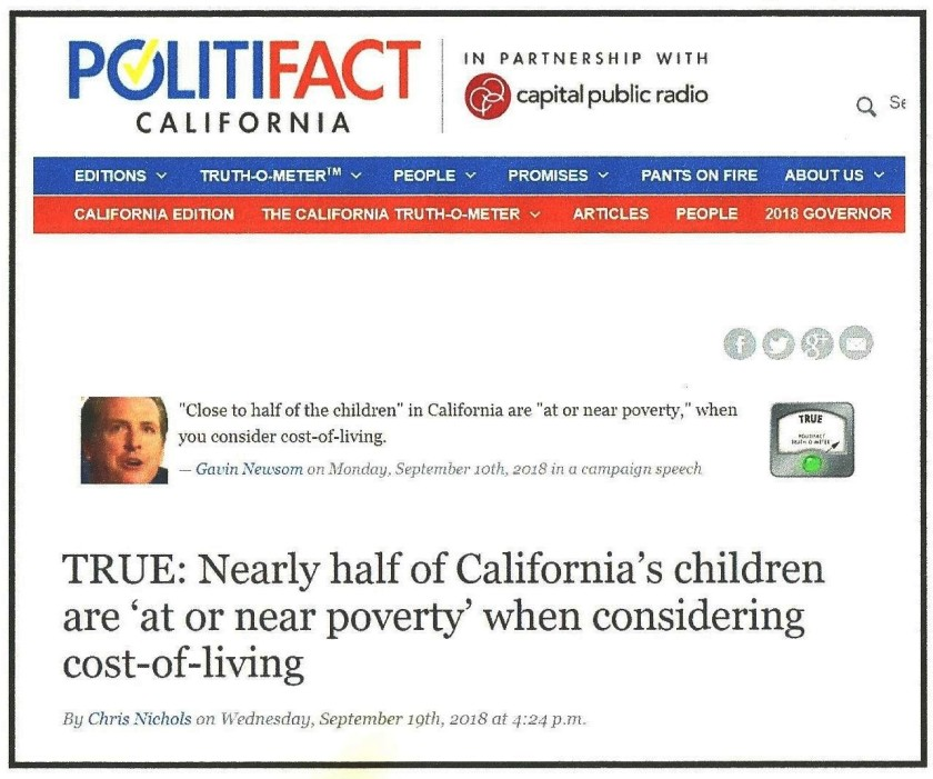 PolitiFact headline