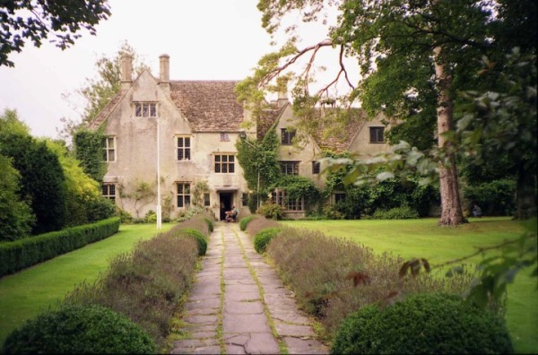 Geoff's wing of the manor house