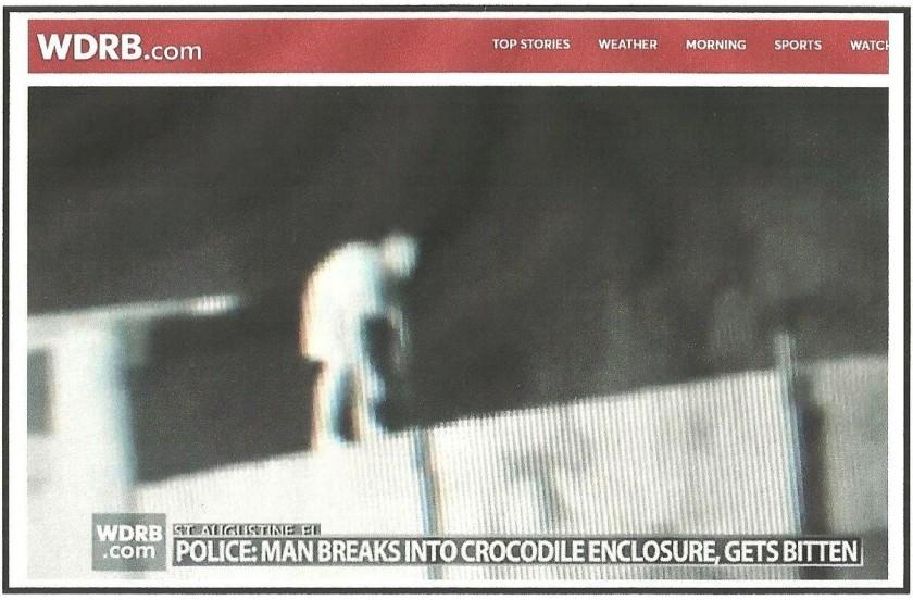 Man breaks in