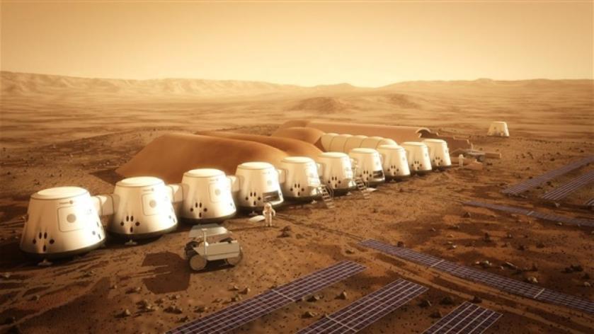 Mars Housing