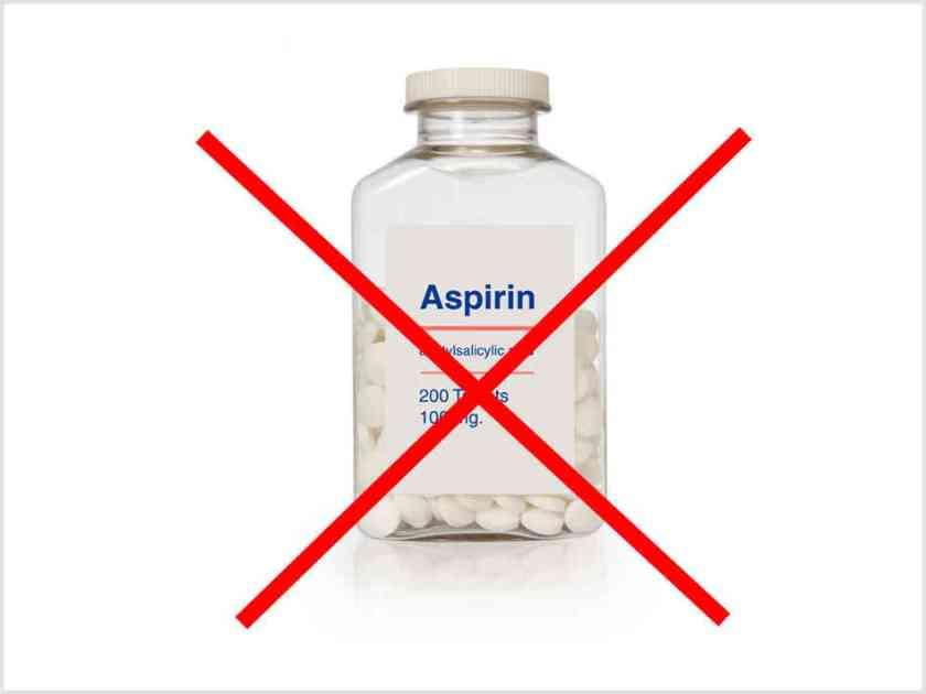 no aspirin