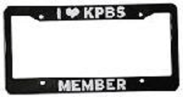 license plate frame larger