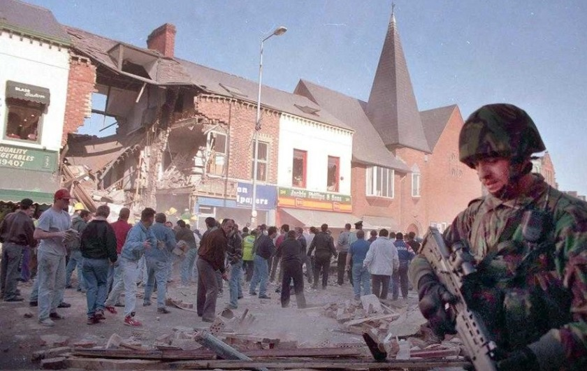 Shankill bomb Belfast 1993 feature