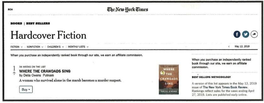 Crawdads NY Times FINAL