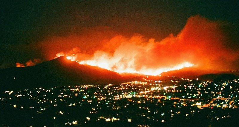 Harris Fire 2007