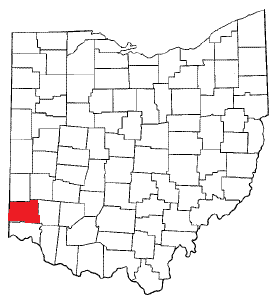 Ohio with red