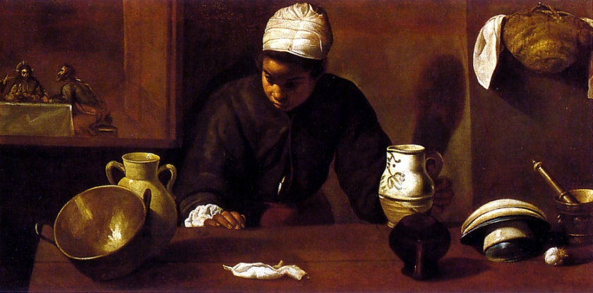 Velazques kitchen-maid-with-the-supper-at-emmaus-diego-velazquez-1618-a4113044