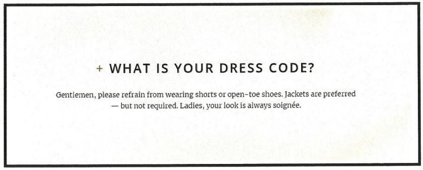 Dress Code (2)