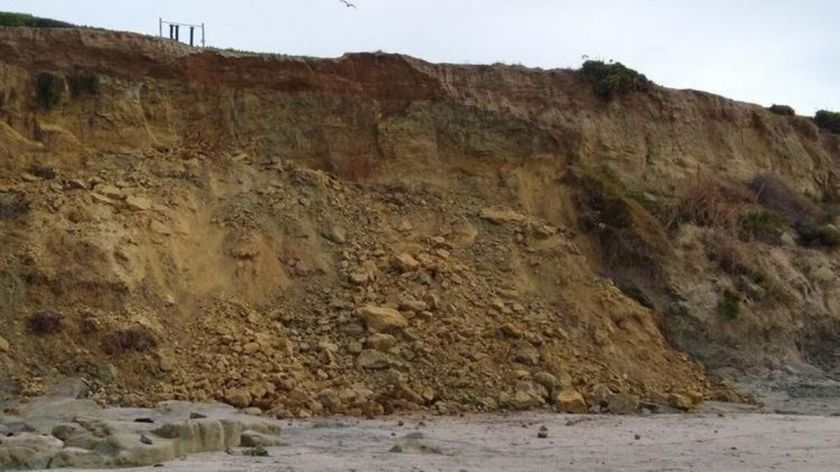 bluff collapse february 2019
