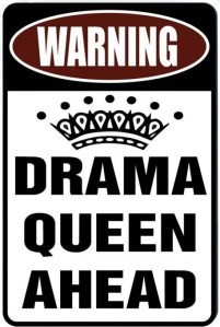 drama queen ahead cropped