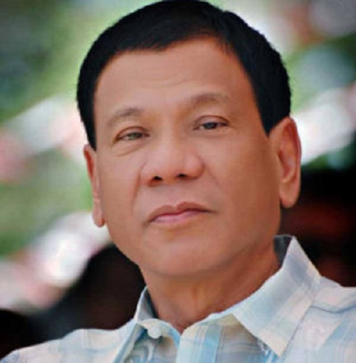 Duterte larger