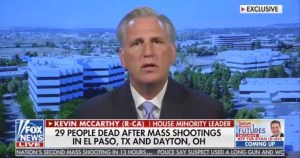 El Paso and Dayton shootings