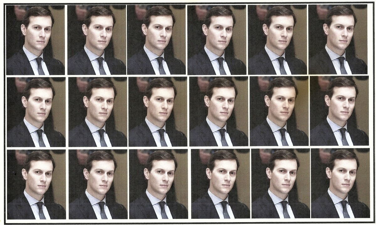 "Jared Kushner, Not Exactly ""The Man Of A Thousand Faces,"" Launches A New Career!"