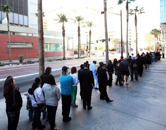 long line at DMV