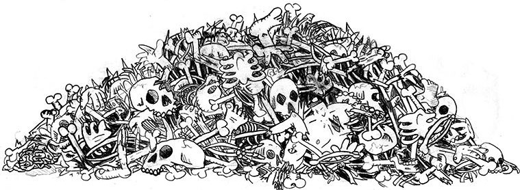 pile of skeletons cropped