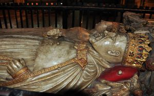 Effigies of Henry IV and Joan of Novarre, Canterbury Cathedral.