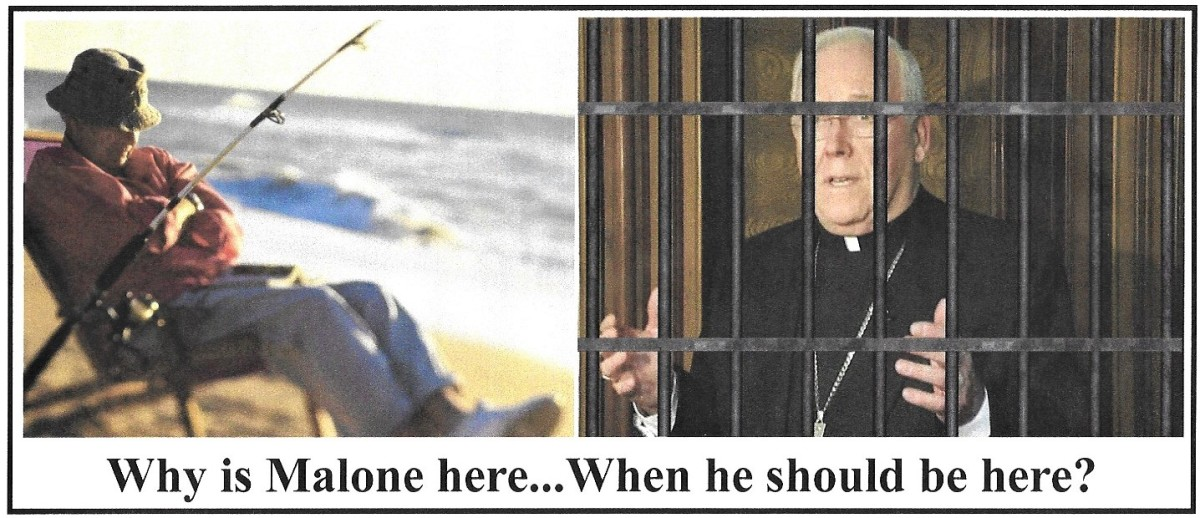 Why Is Bishop Malone Enjoying Retirement Time, Instead Of Serving Jail Time?