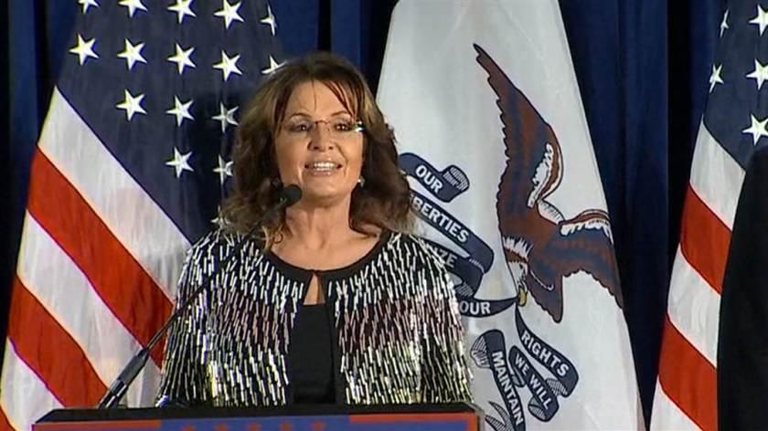 Palin Endorses Trump