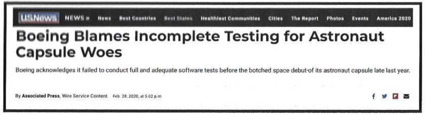 Incomplete testing (2)