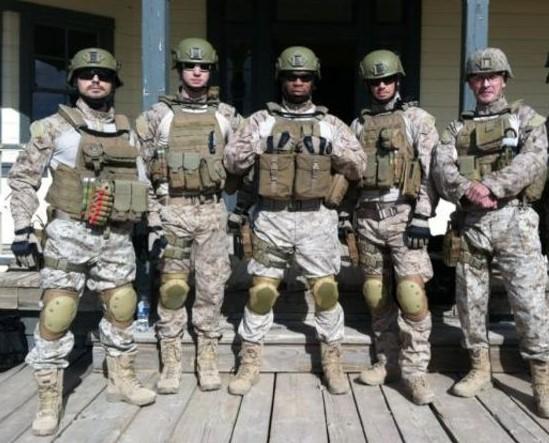 Elite military unit cropped