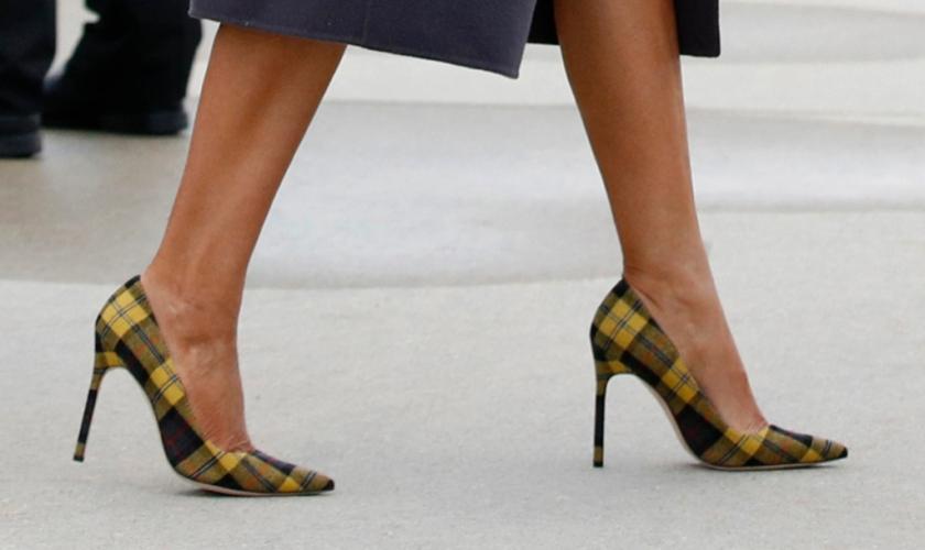 melania-shoes