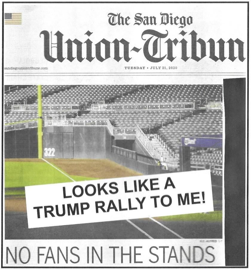 Trump No Fans My Response (2)