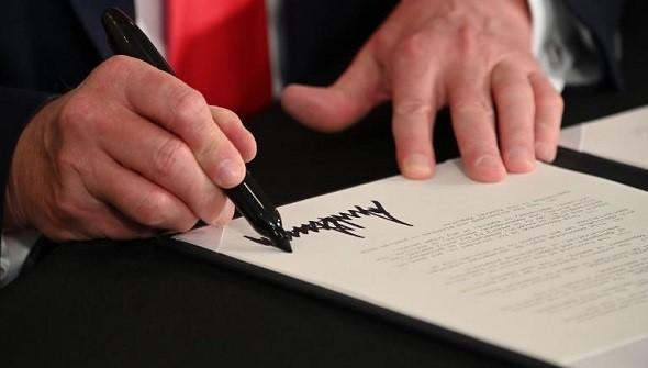 exec order signing