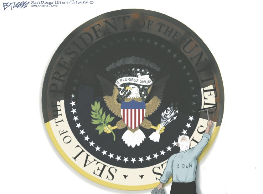 Thank You, Steve Breen, For Saying It All Without Saying A Word