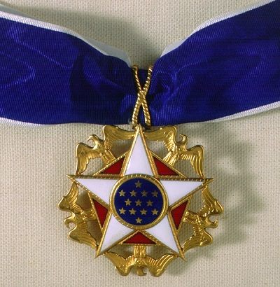 For Sale:  One Presidential Medal Of Freedom, Barely Worn